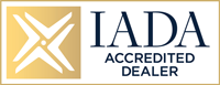 IADA Accredited Dealer emblem