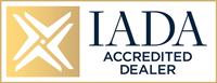 IADA Accredited Dealer emblem