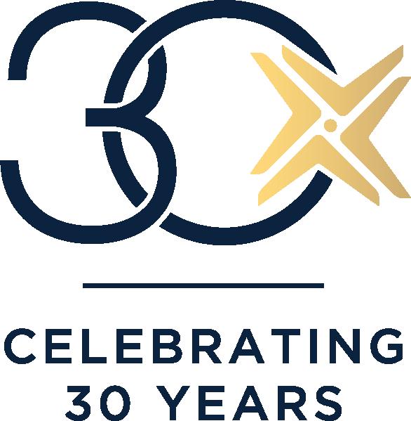 IADA 30 year anniversary logo