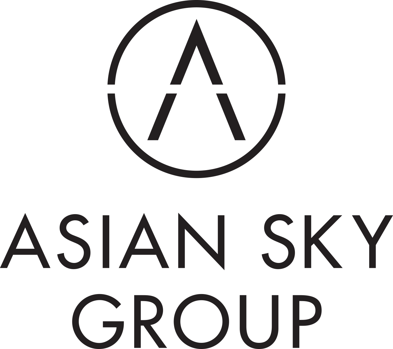 ASIAN SKY GROUP logo